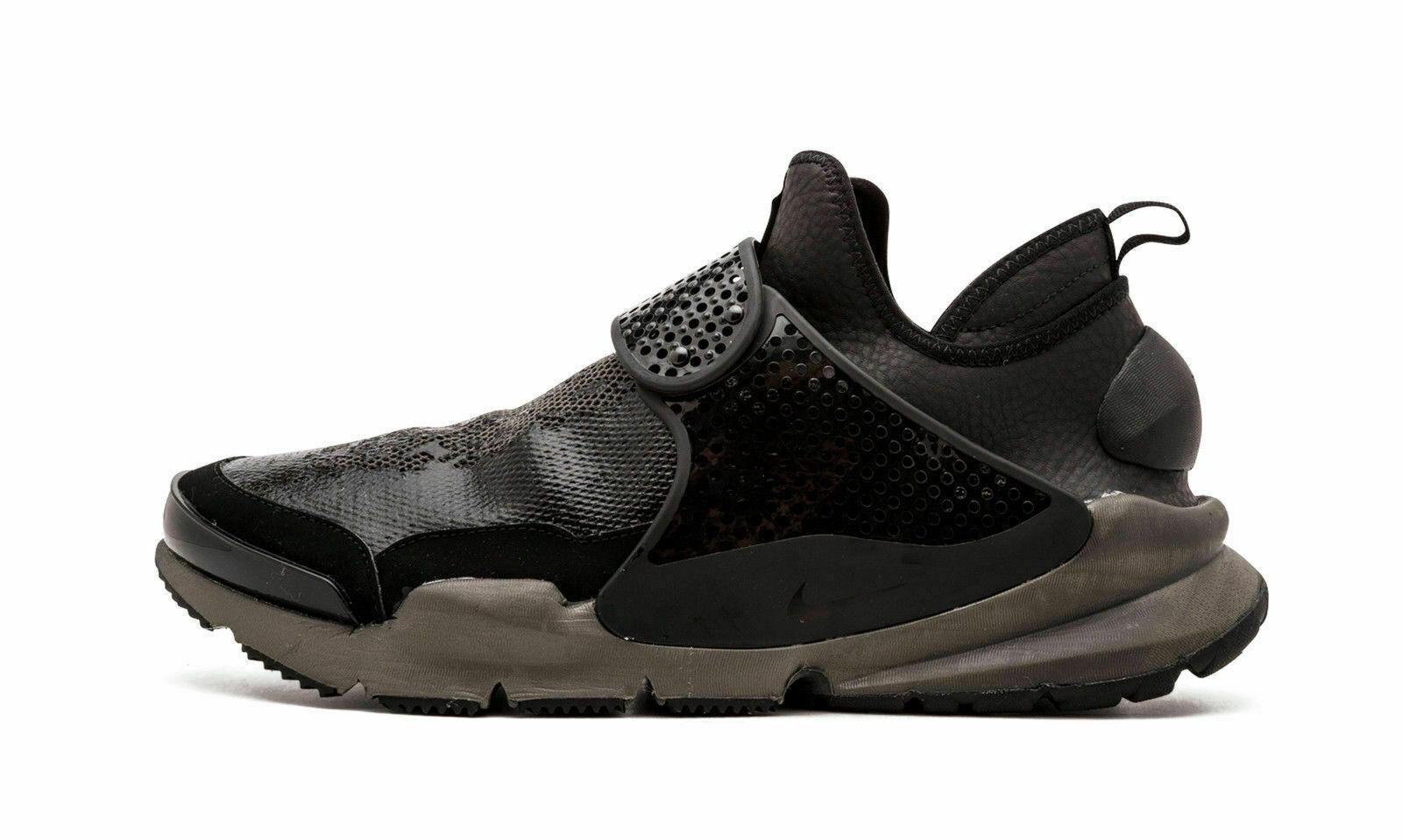 Nike Stone Island Sock Dart mediados X Negro Negro Negro 910090-001 Talla 8 EE. UU. 700f99