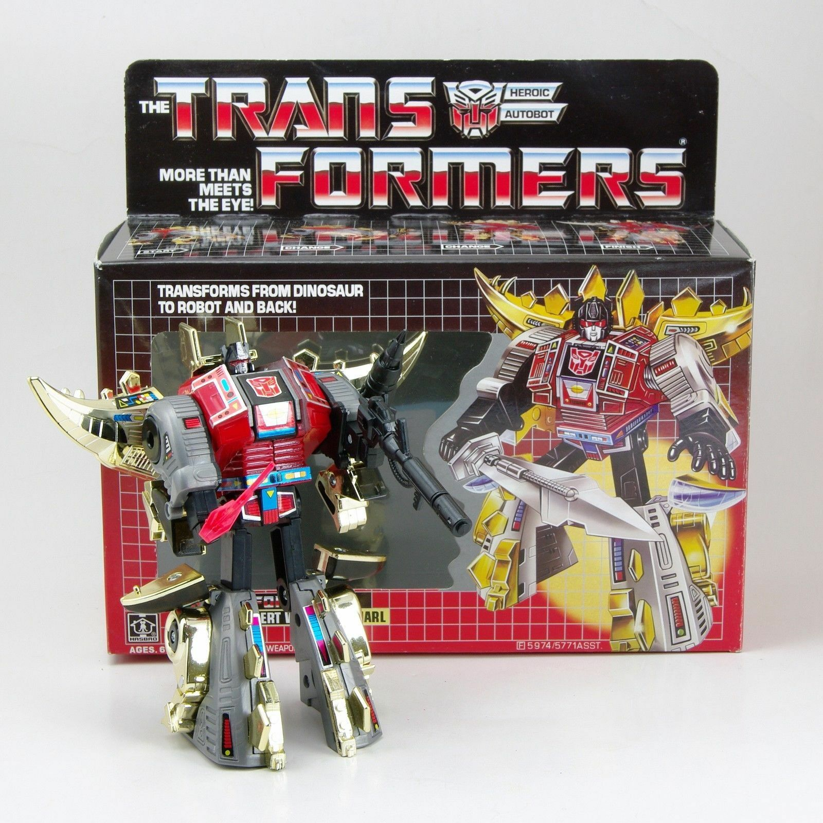Transformatoren tf g1 neuauflage dinobot wüste krieger fauchen action - figuren