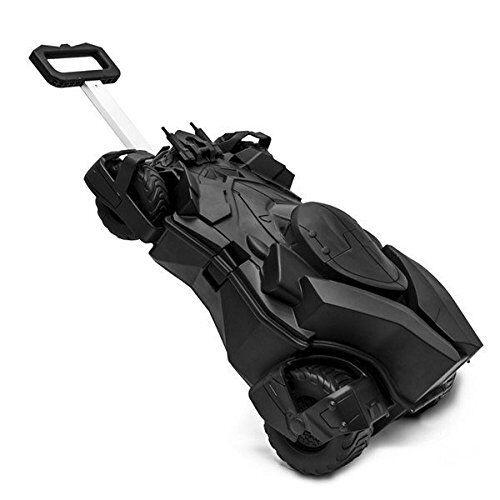 UFFICIALE Batman Batmobile Pull lungo Custodia da viaggio-Valigie per bambini (ES469)