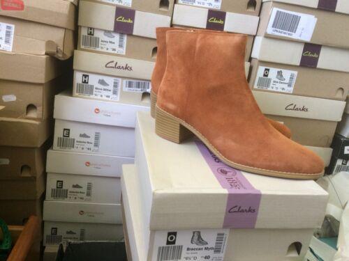 Suede £80 Women's Uk 5d tan Size Rrp 6 Clarks Cowboy Brown Breccan Myth Boots nXBCdOqCZ