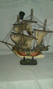 vintage Great Harry model ship