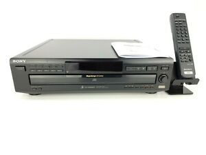Sony CDP-C360Z 5 Disc Compact Disc CD Changer Player w/ Remote - Refurbished