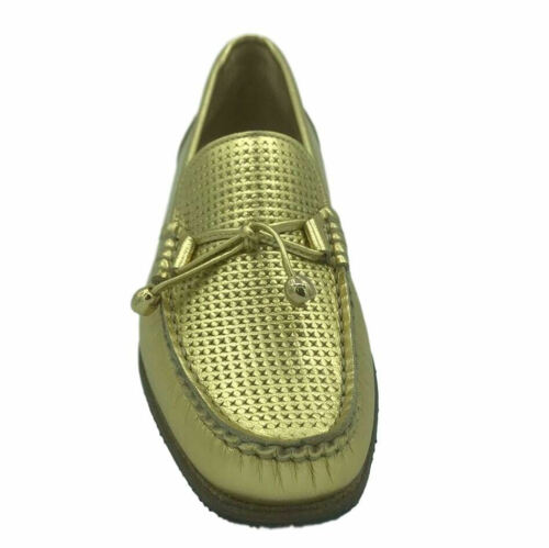 HB Italia Womens Ladies Leather Tassel Loafers Slip On Moccasins Flat Shoes Size