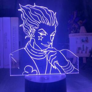 Kids Night Light Gift Led Touch Sensor Nightlight Decor Light Cool Lamp Hisoka Ebay