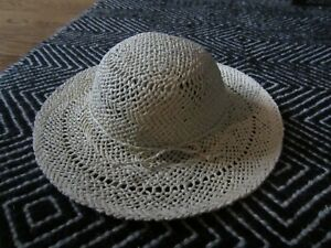 BABY-GAP-GIRL-039-S-STRAW-EASTER-HAT-0-6-NEW