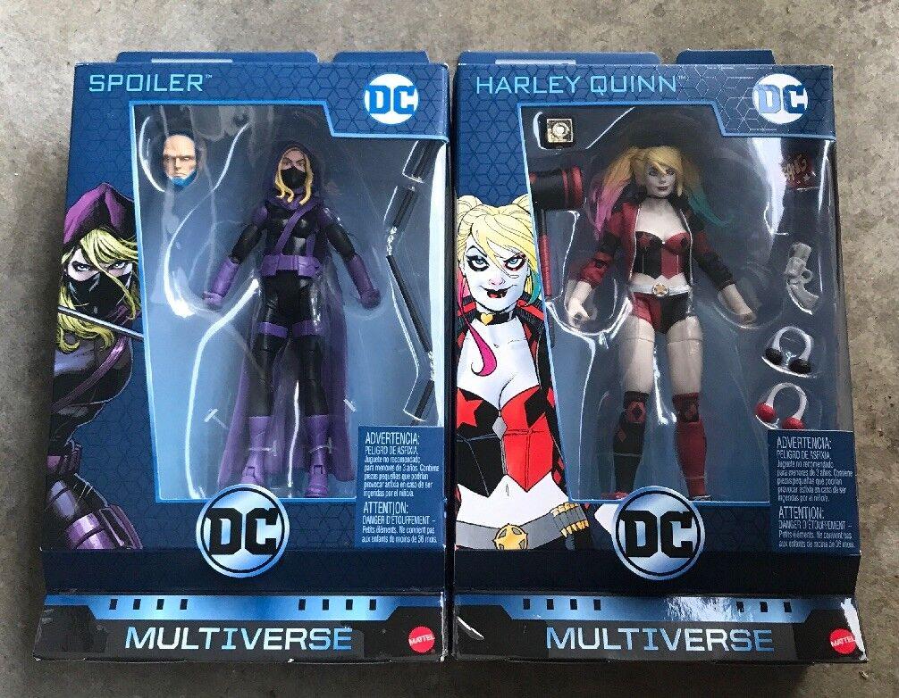 Dc multiversum - & harley quinn baf lex luthor
