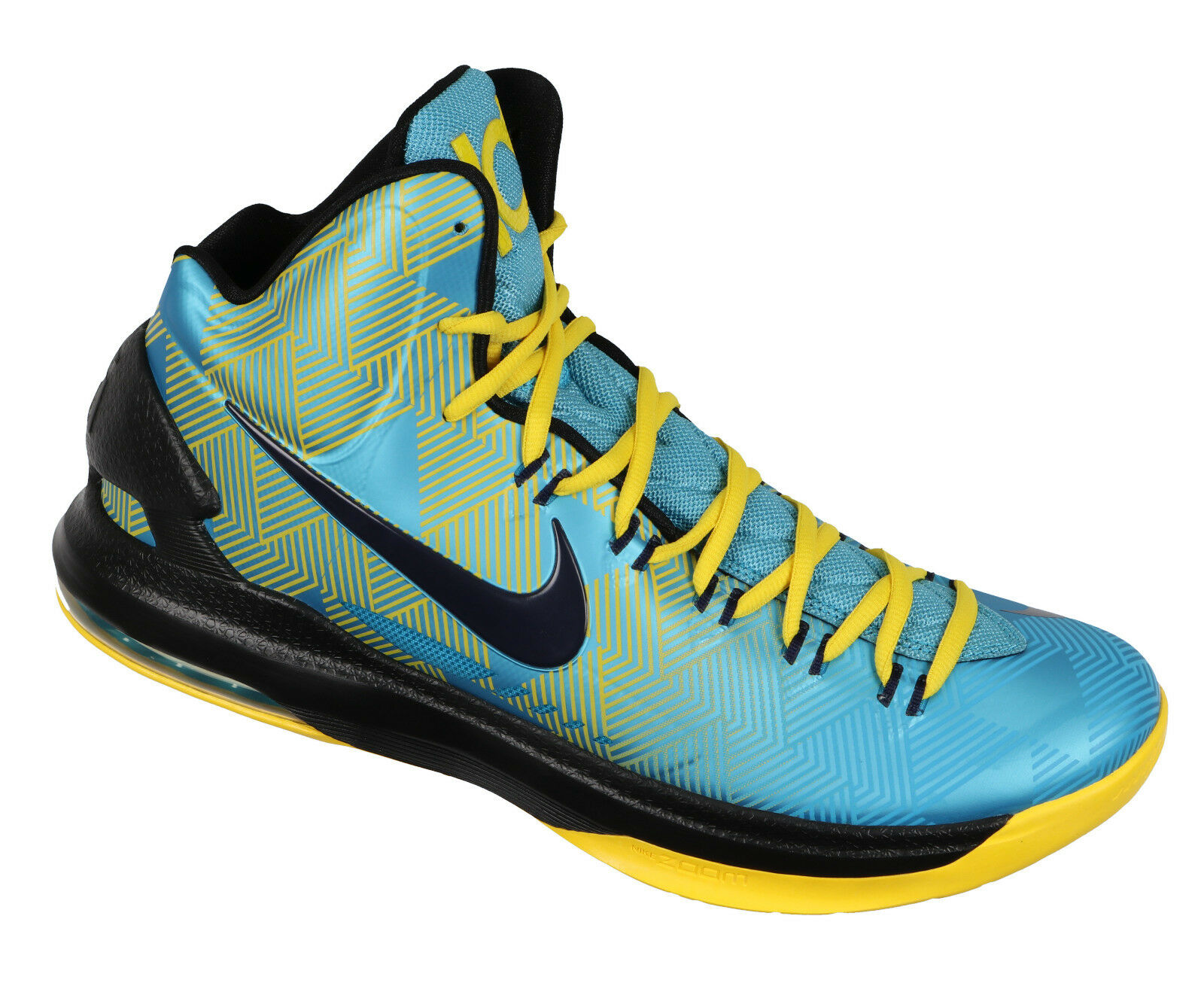 NIKE KD V Native Basketball Shoes sz 13 Native V American N7 Edition Turquoise Maize 5 42a4cc