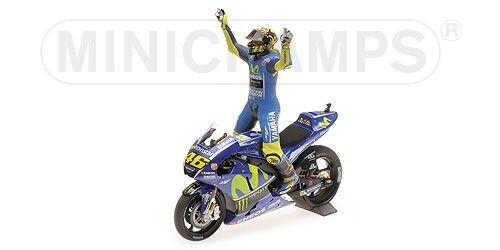 Pilota MINICHAMPS 1:12 122173146 Yamaha Yzr-M1 Valentino Rossi Win.Assen 2017