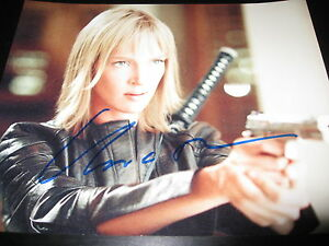 UMA-THURMAN-SIGNED-AUTOGRAPH-8x10-PHOTO-KILL-PROMO-IN-PERSON-COA-AUTO-RARE-D