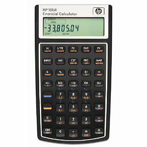 Hewlett-Packard-HP10B-II-Financial-Calculator