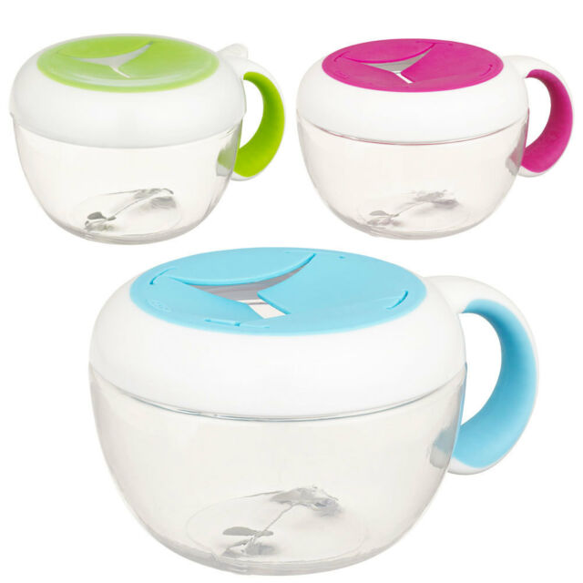 OXO Tot Flippy Snack Cup for Baby Toddler Kid