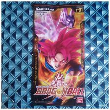 Bandai TCG Dragon Ball IC Carddass BT01 Booster Pack (1pack / 5cards)