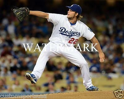 CLAYTON KERSHAW Los Angeles Dodgers Glossy 8 x 10 Photo Poster