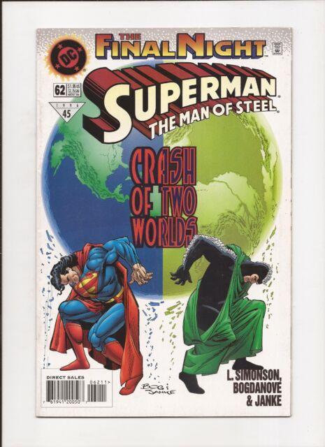 Superman: Man of Steel #62 - DC 1996 - FN/VF 7.0