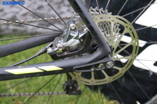 Juin Tech FM02 Cyclocross Cycling Rear Brake Flat Mount Adapter for 160mm Rotor