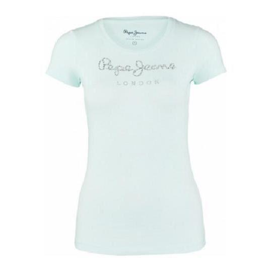 Pepe Jeans Puppy T-shirt Femme Blanc M   eBay 3f7fdc518917