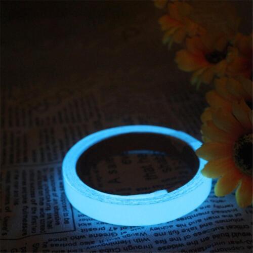 Glow In The Dark Luminous Fluorescent Tape Self-adhesive Safety Sticker Tape
