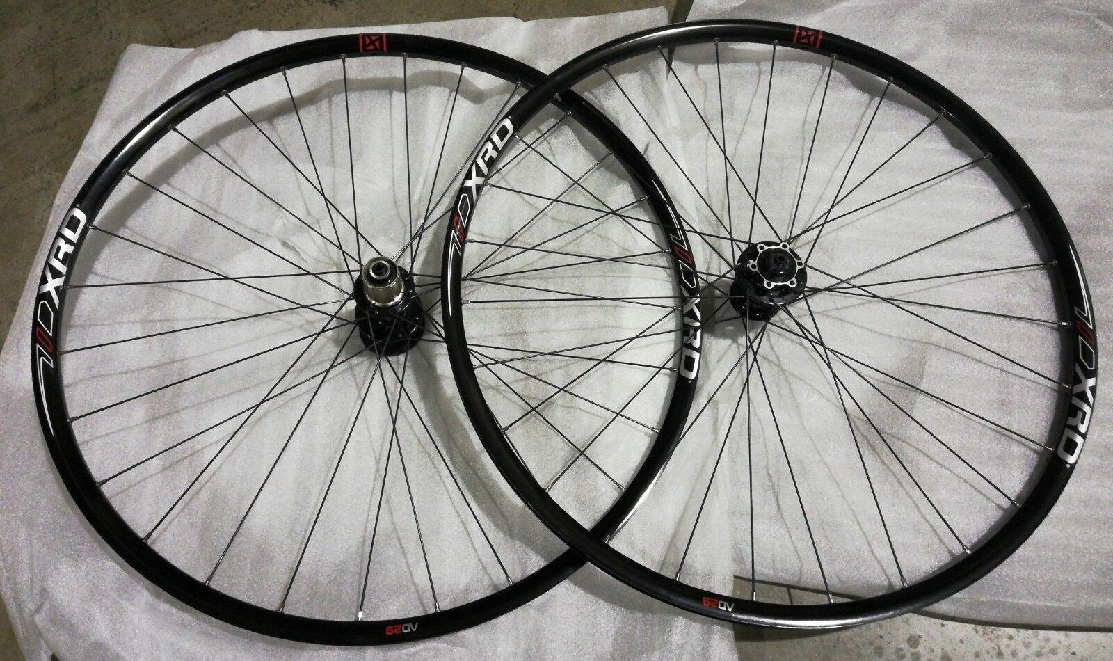 New XRD, 29   XC MTB Wheelset (Novatec hubs, 15mm Thru Axle or regular QR) 28 28h  brand on sale clearance
