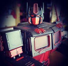 Masterpiece CUSTOM RED Optimus Prime