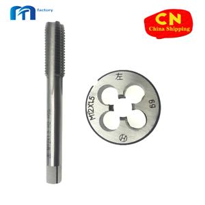 M12 x 1.5mm Tap /& M12 x 1.5mm Die Metric Thread Left Hand HSS High Speed Steel