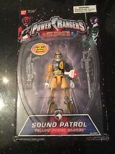 SPD Power Rangers Sound Patrol YELLOW Power RANGER Action Figure New