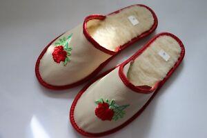 Pantoffeln Hausschuhe Damenhausschuhe GläNzende OberfläChe