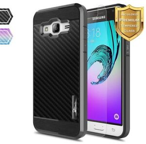 super cute 974e6 12eff Details about For Samsung Galaxy J36 V/J3 2016 Shockproof Slim TPU Case  Cover+Screen Protector
