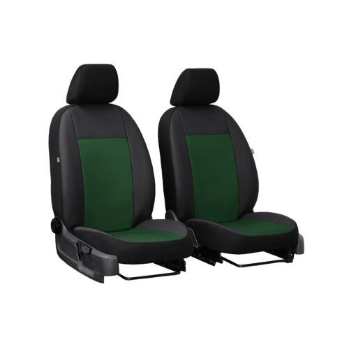 Autositzbezüge für Fiat Ducato IV 14-1+1 Grün Vordersitze Transporter Sitzbezug