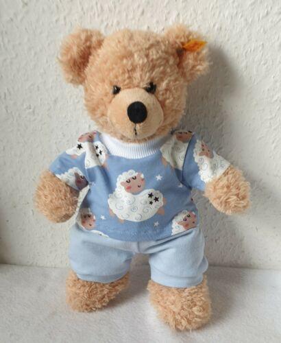 Hose Shirt Kleidung für 28-30cm Bär Teddy*Bärenkleidung blau