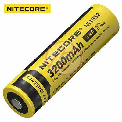 Nitecore rechargeable 18650 Batterie 3200 NL1832