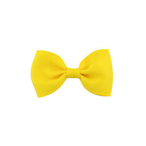 Girls-Bowknot-Hairpin-Kids-Baby-Sweet-Hair-Bow-Clip-Hair-Accessories-Yellow