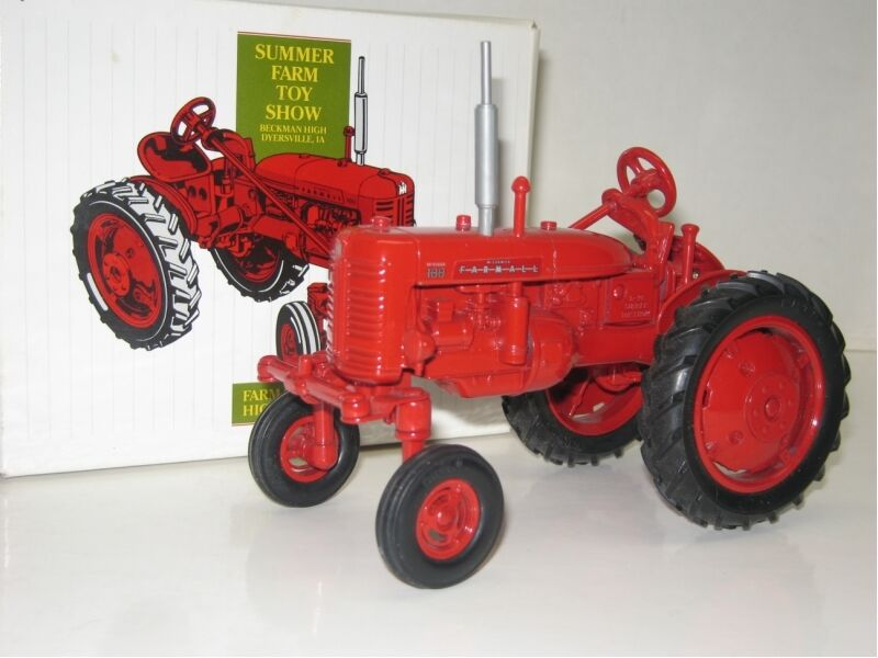 1 16 FARMALL 100 HIGH CLEAR SUMMER SHOW NIB free shipping
