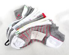 ESPRIT Women's Ankle Socks 10 Pairs Multiple Colors - New!