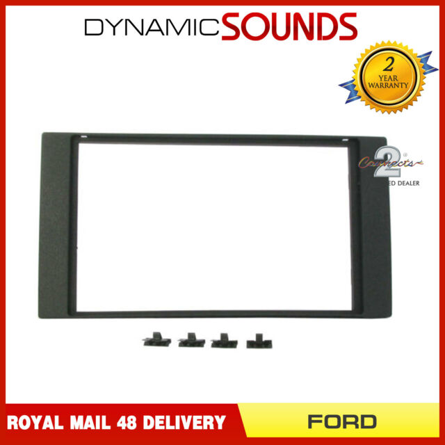 CT24FD18 Double Din Radio Stereo Fascia Panel Adaptor For FORD Transit 2007>