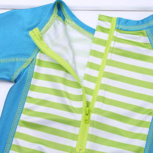 Baby Girls Swimsuit UPF 50 Rash Guard Kids Swimwear Bathing Swimming Suit