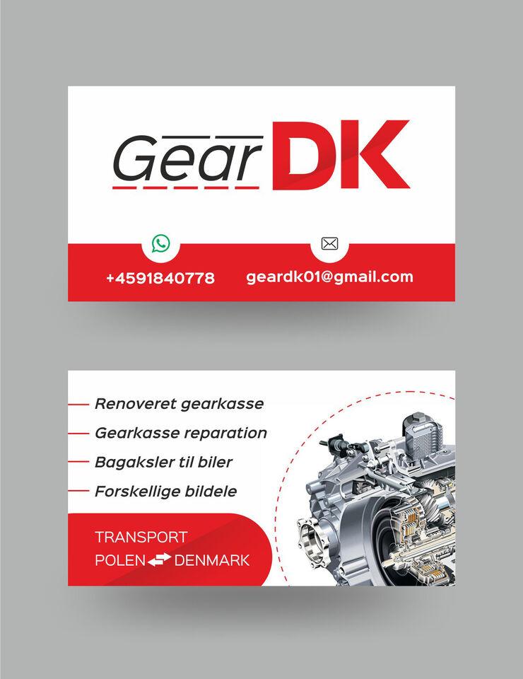 Gearkasse DSG DQ250 VW Seat Skoda 2.0TDi KMY