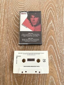 Vintage-The-Doors-Greatest-Hits-Cassette-Tape-Rock-Jim-Morrison