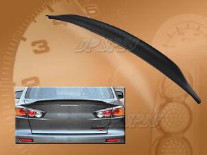 FOR 08-15 MITSUBISHI LANCER EVO 10 X REAR DUCK-TAIL LIP SPOILER REAR TRUNK WING