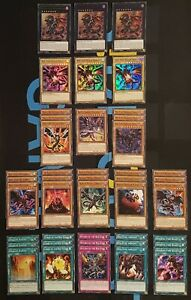 Red-Eyes-Black-Dragon-Deck-Ready-to-Play-43-Cards-1st-Edition-YuGiOh