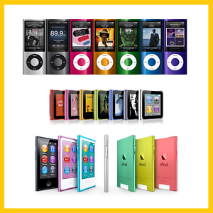 Apple-iPod-Nano-Assorted-Colors-4th-5th-6th-amp-7th-Gen-Latest-Model-8GB-16GB