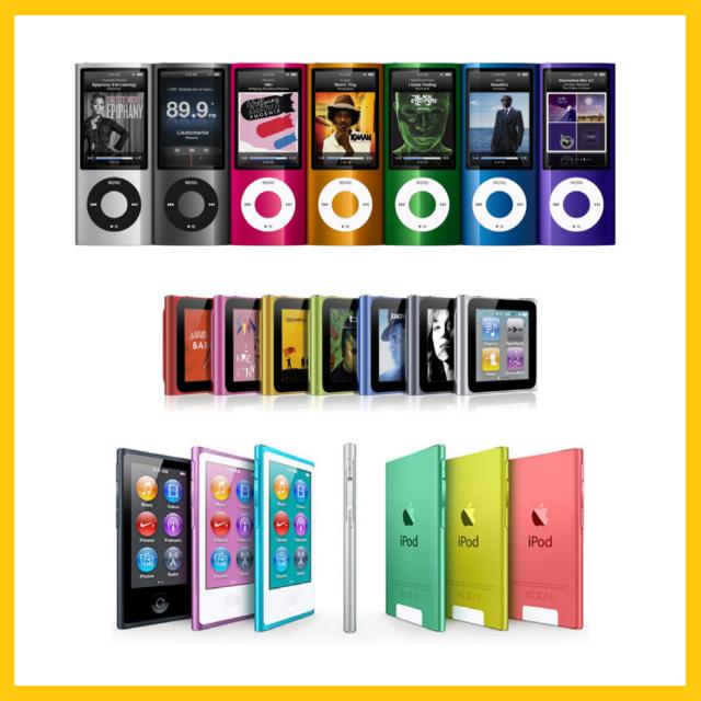 quality design 97af2 7b71c ____Apple iPod 16GB Nano 7th Gen (Latest Model) 8GB 16GB 4th, 5th, 6th Nano
