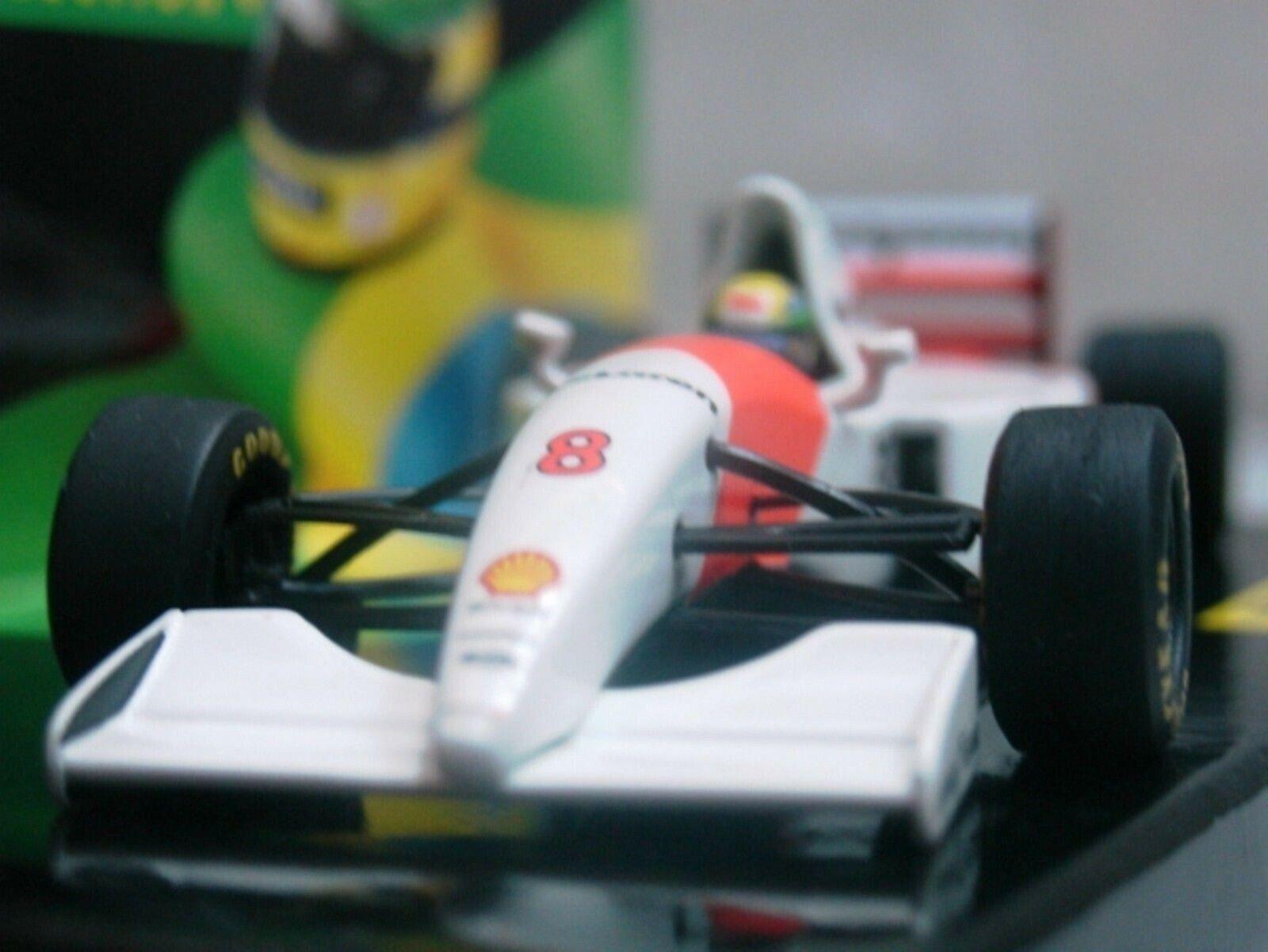 WOW EXTREMELY RARE RARE RARE McLaren 1993 MP4 8 Ford Senna GP Donington 1 43 Minichamps 113f93