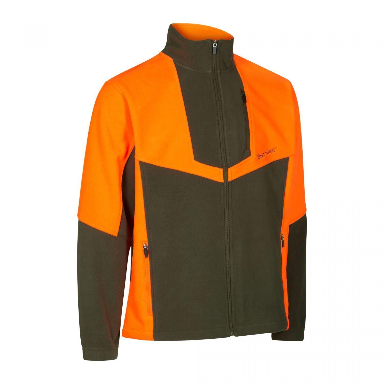 Deerhunter 5495  negro Wild III Fleece chaqueta  669-DH naranja, talla s