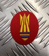 Royal Engineers Bomb Disposal TRF Badge New Colour British Army