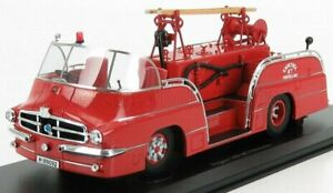 AUTOCULT 1/43 PEGASO | 140 DCI MOFLETES SCALE TRUCK FIRE ENGINE SPAIN 1959 | RED