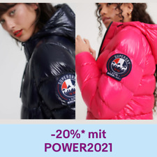 Superdry Damen Leichte Premium Daunenjacke