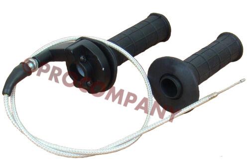 "Throttle Cable grip casing set fit XR//CRF50 70 50-125c dirt bikes apply 7//8/"" bar"