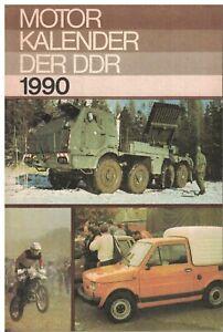 Militaerverlag-der-DDR-Motorkalender-der-DDR-1990-Knickspuren