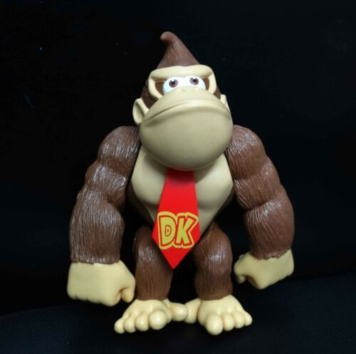 "Super Mario Brothers Bros Donkey Kong figure 5/"" loose"