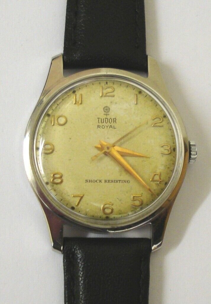 Image 01 - Gents Tudor Royal Stainless Steel Wrist Watch - £625